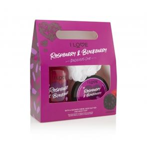 I Love.... Raspberry & Blackberry Delicious Duo Gift Set