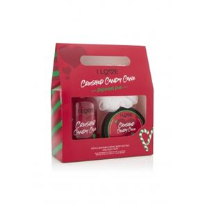 I Love.... Crushed Candy Cane Delicious Duo Gift Set