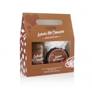 I Love.... Luxury Hot Chocolate Delicious Duo Gift Set