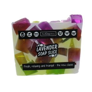 The Soap Story Lavender Soap Slice 120g