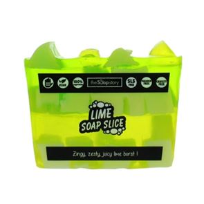 The Soap Story Lime Soap Slice 120g