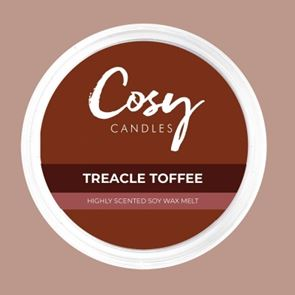 Cosy Candles Wax Pods Treacle Toffee 110gm