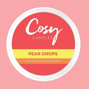Cosy Candles Wax Pods Pear Drops 110gm