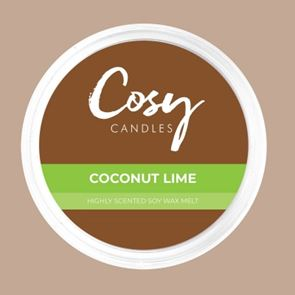 Cosy Candles Wax Pods Coconut Lime 110gm