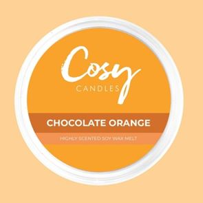 Cosy Candles Wax Pods Chocolate Orange 110gm
