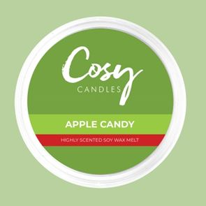 Cosy Candles Wax Pods Apple Candy 110gm