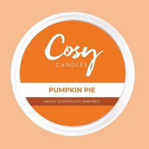 Cosy Candles Wax Pods Pumpkin Pie 110gm