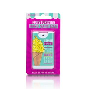 Mad Beauty Pocket Hand Sanitizer Spray I Love Ice Cream Lemon Sorbet 15ml