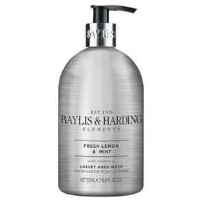 Baylis & Harding Elements Fresh Lemon & Mint Hand Wash 500ml