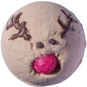 Bomb Cosmetics Run Rudolph Run Bath Bomb 160gm