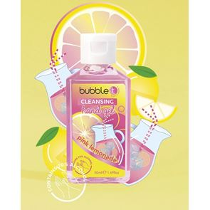 Bubble T Pocket Hand Sanitiser 70% Pink Lemonade 50ml