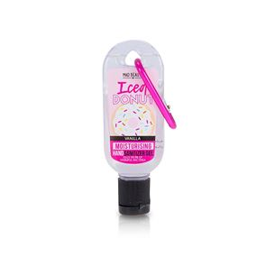 Mad Beauty Pocket Hand Sanitizer Iced Donut Vanilla Clip & Clean 30ml