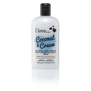 I Love...Coconut Ice Bath and Shower Creme 500ml
