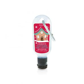 Mad Beauty Pocket Hand Sanitizer North Pole Gingerbread House - Cranberry 30ml